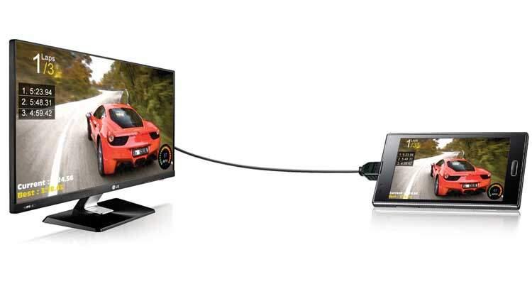 Come collegare smartphone alla TV e proiettare lo schermo