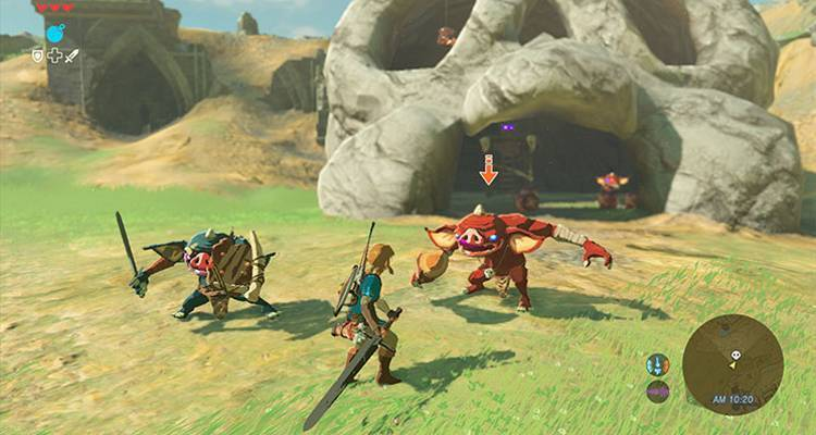 Zelda Breath of the Wild non ci sarà al lancio di Nintendo Switch, ma Mario sì