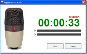come registrare audio su pc