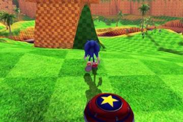 Sonic Greenhill Paradise Act 2