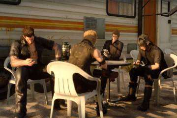 Square Enix Final Fantasy 15 dispositivi mobili