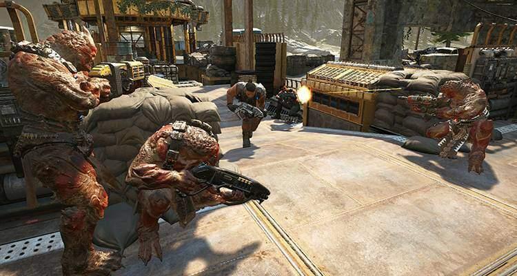 Gears of War 4 permette di giocare in Versus tra Xbox One e Windows 10