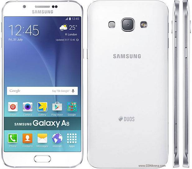 Samsung Galaxy A8 Duos: arriva Android 6.0 Marshmallow