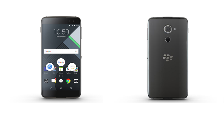 BlackBerry DTEK60 in pre-ordine in Canada! Affrettatevi
