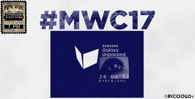 Samsung Galaxy S8 verrà presentato il 26 febbraio?