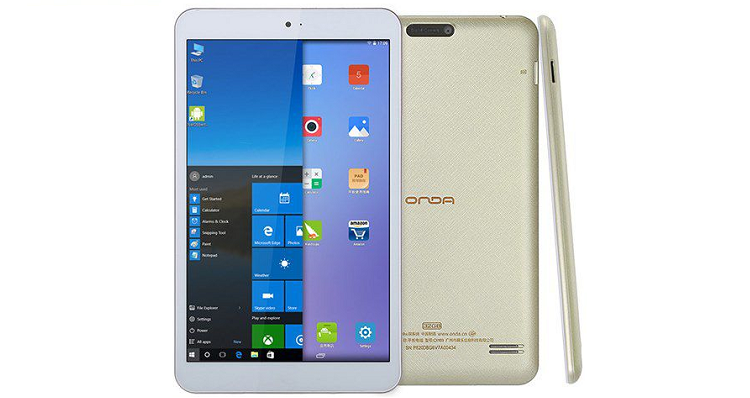 Onda V820w: nuovo tablet Dual Boot con display 8″