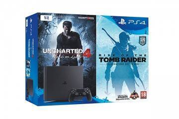 PlayStation 4 Uncharted 4 Tomb Raider