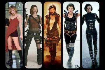Resident Evil film the last chapter