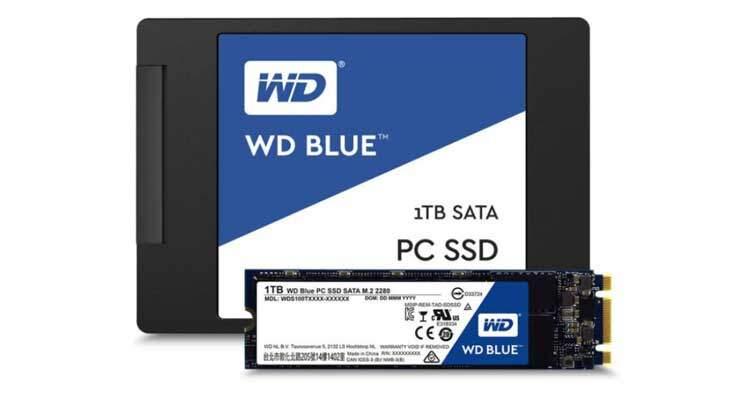 Western Digital lancia i primi SSD: WD Blue e Green