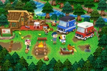 Animal Crossing New Leaf camper nintendo direct