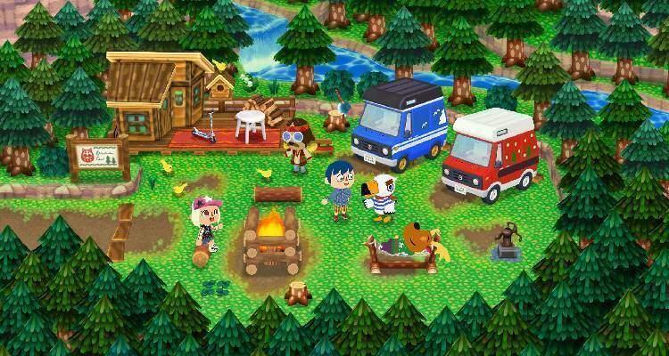 Animal Crossing New Leaf accoglie i camper degli Amiibo!