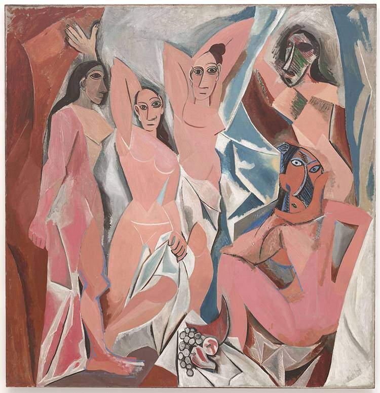 Les Demoiselles d'Avignon Picasso Voodoo