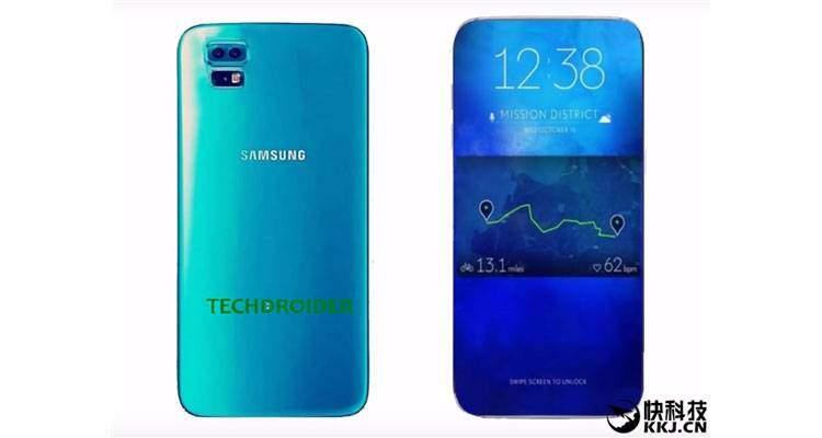 Samsung Galaxy S8: nuovo render svela il possibile design finale