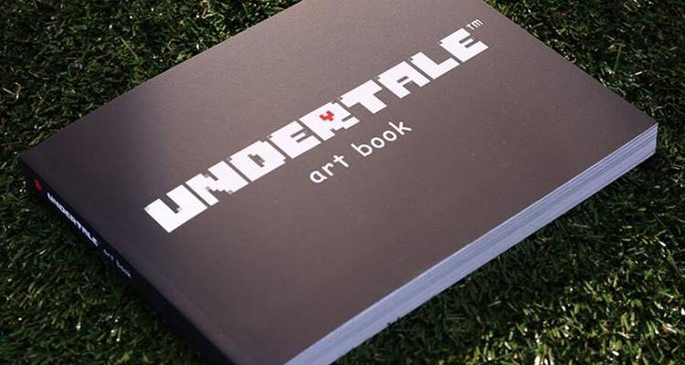 UnderTale ha finalmente 255 pagine di artbook!