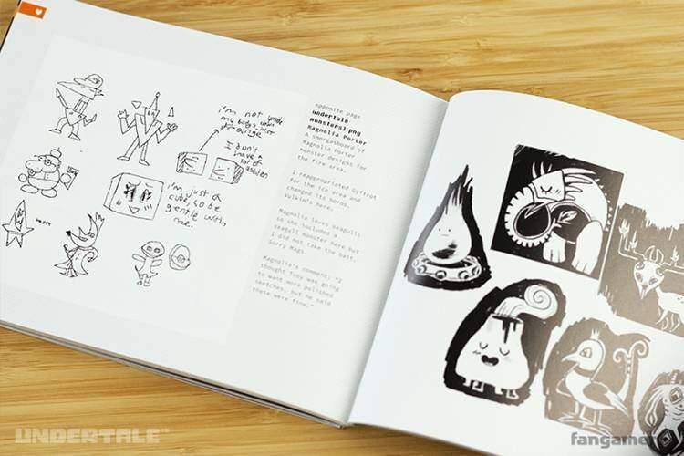UnderTale art book