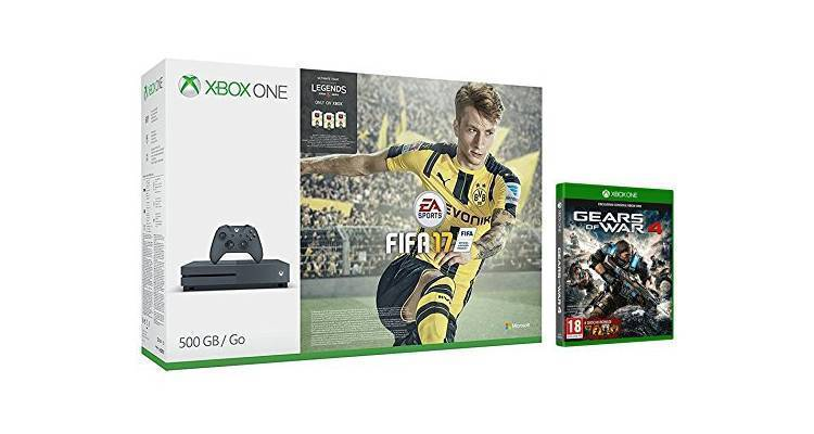 Xbox One S in offerta con bundle FIFA 17 e Gears of War 4 per il Black Friday