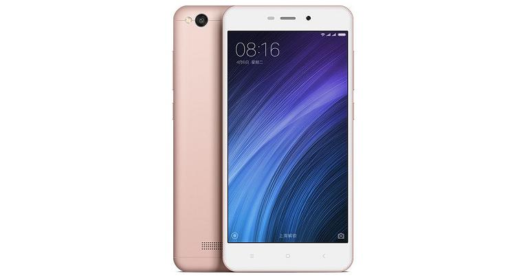Xiaomi Redmi 4A è ufficiale: è il clone dell'iPhone?