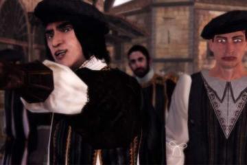 Assassin's Creed 2 remaster ezio collection weird guy