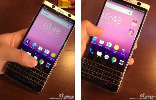 BlackBerry: nuovo smartphone con tastiera QWERTY in foto