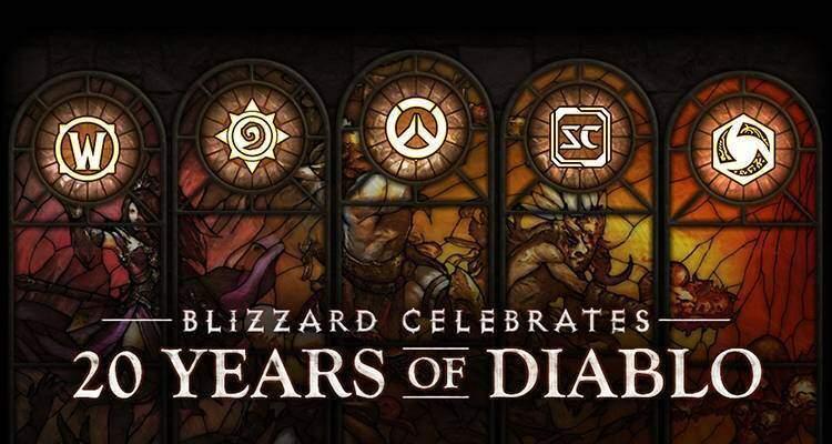 Diablo arriva in tutti i giochi Blizzard per i suoi 20 anni