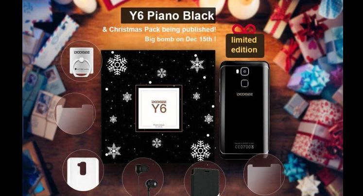 Doogee Y6 Piano Black in edizione limitata dal 15 dicembre