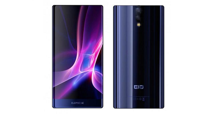 Elephone S8 - prima immagine per lo smartphone 'Triple-Bezel-Less'