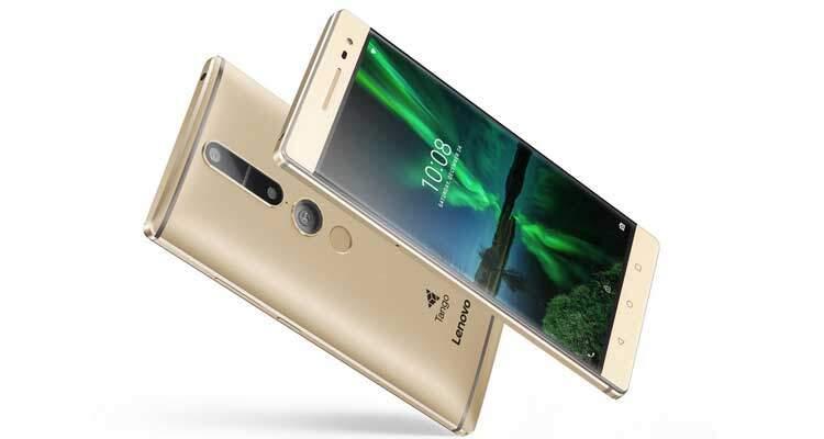 Lenovo Phab 2 Pro arriva in Europa con Project Tango