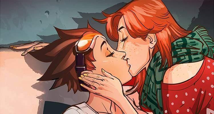 Overwatch augura buon Natale con un fumetto su Tracer (e la sua ragazza)