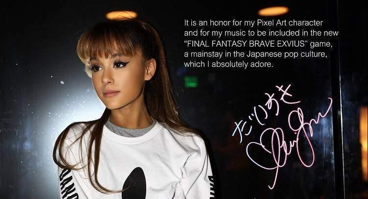 Ariana Grande e Touch It arrivano in Final Fantasy