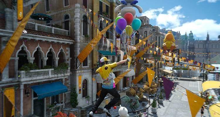 Final Fantasy XV Il Moogle Chocobo Carnival iniziera il 24 gennaio