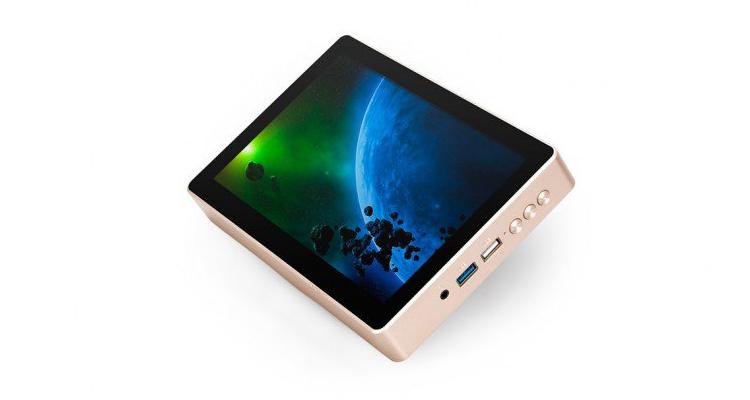 Gole 1 Plus, un mini PC con display integrato e Windows 10