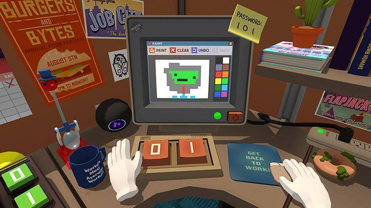 Job Simulator vendite VR
