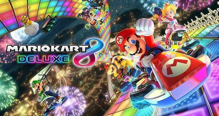 Mario Kart 8 Deluxe ha doppi oggetti e nuove modalità Battaglia