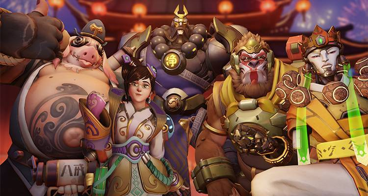 Overwatch, Heroes of the Storm e WoW festeggiano il Capodanno Cinese