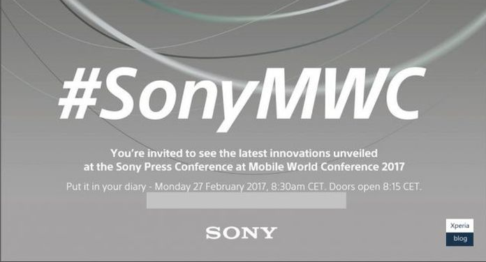 Sony fissa il suo evento per il MWC 2017: data, ora e aspettative