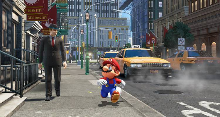 Super Mario Odyssey torna al sandbox open-world di Super Mario 64