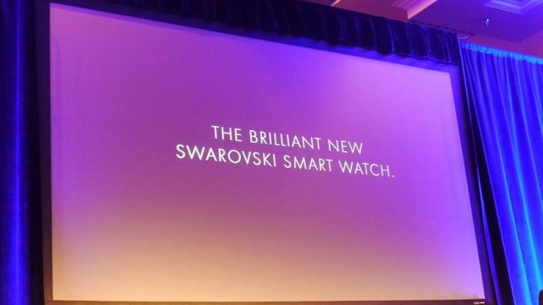 Swarovski al lavoro sul suo primo smartwatch Android Wear