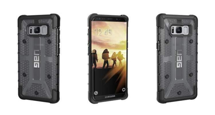 Delle cover per Samsung Galaxy S8 ci forniscono informazioni sul suo design