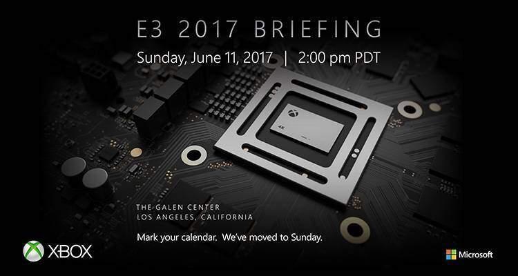 E3 2017: data e ora conferenza Microsoft