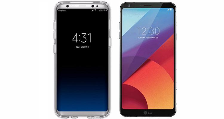 LG G6 e Samsung Galaxy S8: svelate le date di inizio vendite
