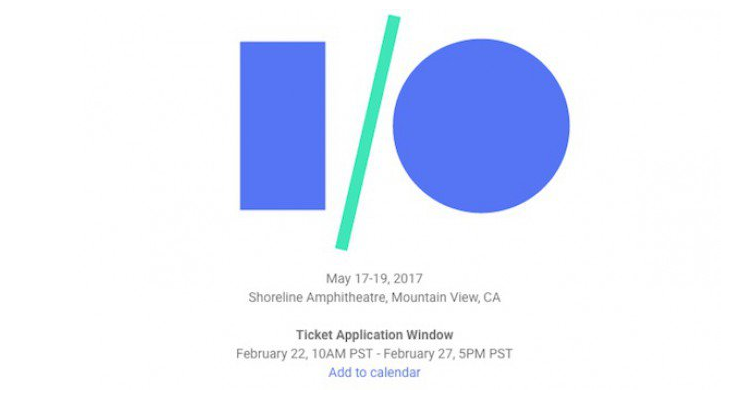 Google I/O 2017: iscrizioni aperte dal 22 febbraio