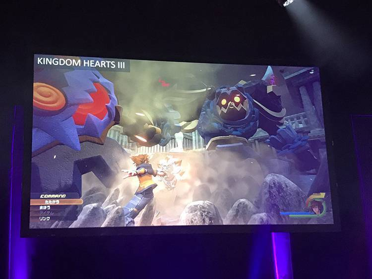 Uno screenshot inedito per Kingdom Hearts III
