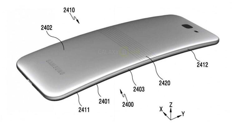 Smartphone pieghevole da Samsung al MWC