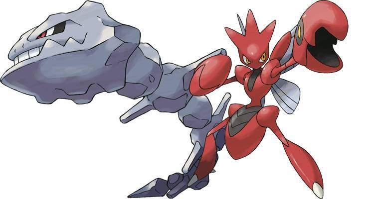 steelix scizor pokemon go