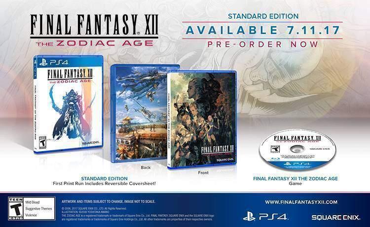 Final Fantasy 12 Zodiac Age Standard