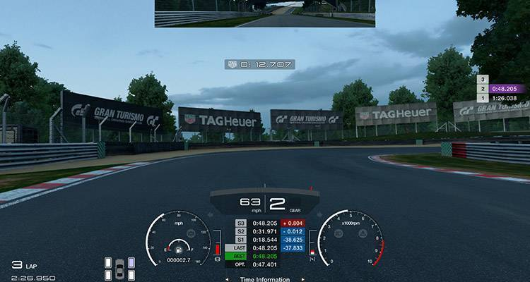 Gran Turismo Sport TAG Heuer 01