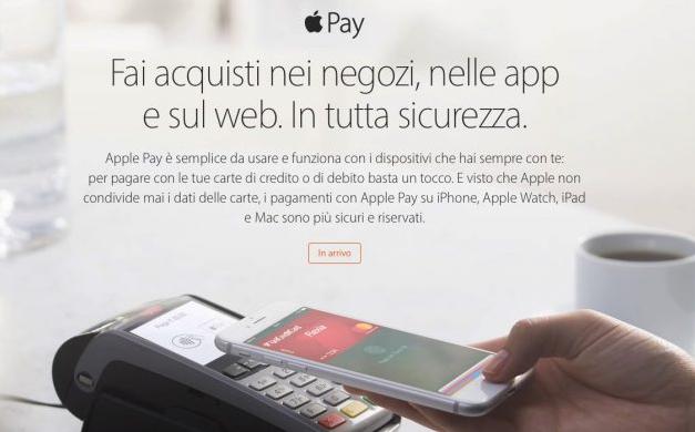 Apple Pay arriva in Italia: Unicredit e Carrefour tra i primi partner