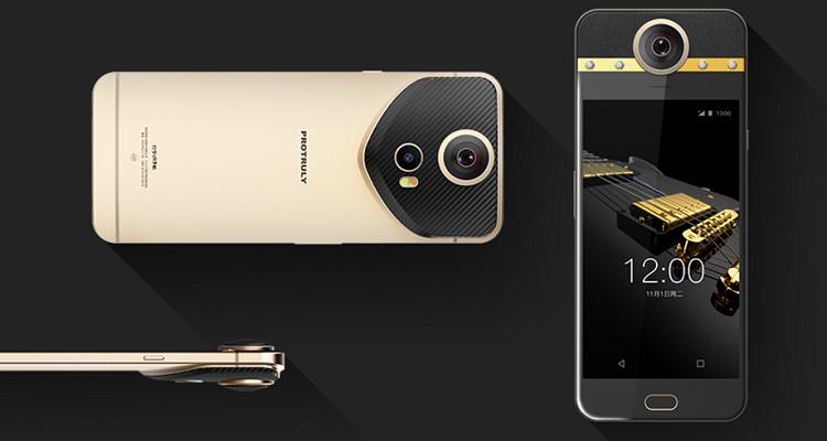 Protruly Darling, lo smartphone con fotocamera a 360 gradi