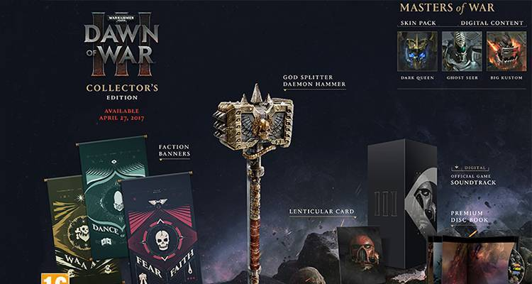 Warhammer 40000 Dawn of War 3 ha una data di uscita ufficiale