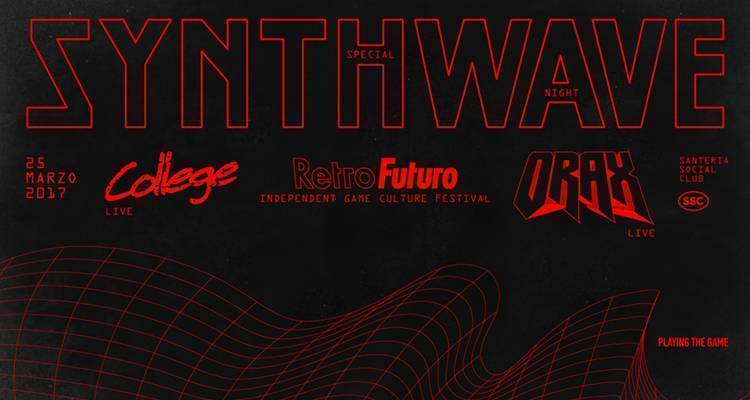 Retrofuturo porta a Santeria Social Club di Milano videogiochi indie e musica synthwave